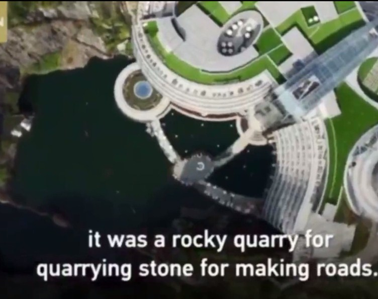 Live: Tour the world's first underground quarry hotel