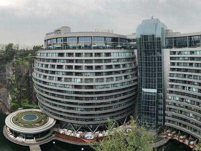 上海亚虎国际娱乐深坑酒店正式开业 其中钢结构受关注