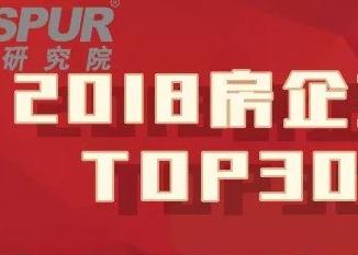 同策研究院:2018房企主营收入TOP30排行榜