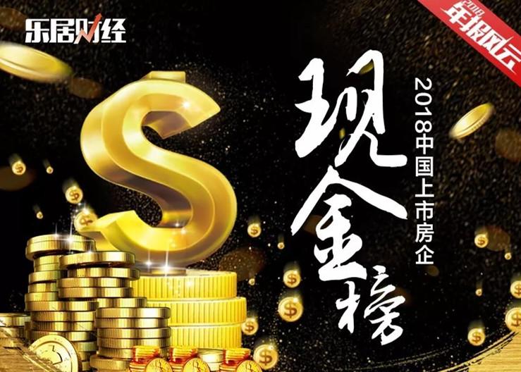 2018中国上市房企现金排行榜 | 年报总榜①