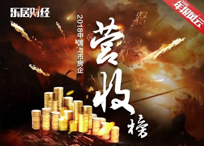 2018中国上市房企营收排行榜TOP100 | 年报总榜②